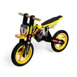 Motocicleta SUZUKI fara pedala din lemn cu roti...