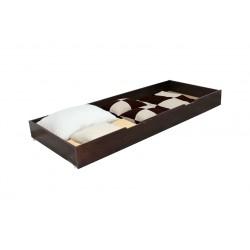 Cutie de depozitare sub pat, 195x80x20 cm, Nuc