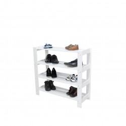 Organizator pantofi TOFI 4 nivele alb