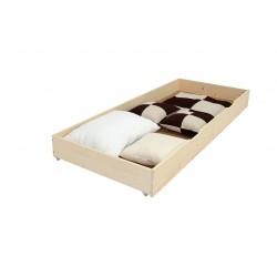 Cutie de depozitare sub pat, 195x60x20 cm, Natur
